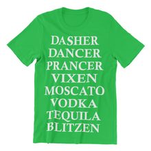 Load image into Gallery viewer, Reindeer Drinks..Dasher, Dancer, Prancer, Vixen, Moscato, Vodka, Tequila, Blitzen
