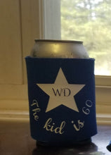 Load image into Gallery viewer, 75th birthday Custom Coozie