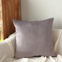 YESHOME Throw Pillow Covers Decorative with Soft Velvet Solid Cushion Cover Bedroom Office Car 12x20 Khaki
