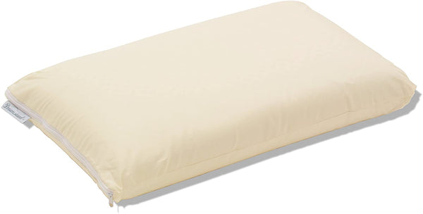 Dreamsweet Premium Brazilian Natural Latex Classic Shape Pillow with 100% Percale Cotton Cover Queen/Standard Size - Firm