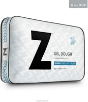 Z Gel Infused DOUGH Memory Foam Pillow with Removable Tencel Cover - Queen - Mid Loft
