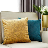 Cushion Cover For Living Room Decorative Pillows European Pillow Case 45*45 Royal Kussenhoes Bedroom Nordic Decoration Home