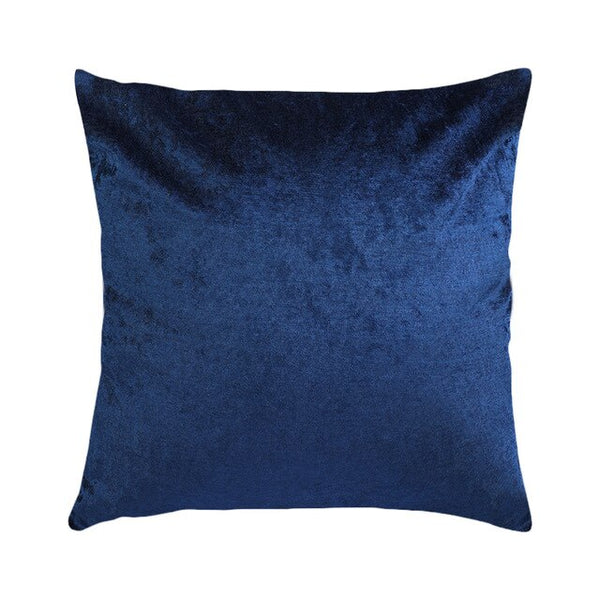 45x45cm Velvet Cushion Cover Pillow Cover Pillow Case Blue Yellow Pink  White Black Sofa Throw Pillows Housse De Coussin