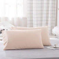 WLIARLEO Pillowcase High Quality Pillow Cover Thicker pillows 2PCS Long Pillow Cases Home decorative Solid fronha 51x76,51x102cm