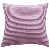 Blue Velvet Cushion Cover Pillowcase Solid Color Pink Home Decorative Sofa Yellow Throw Pillows for Room Happy NewYear Wholesale