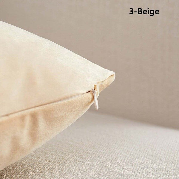 Velvet fabric sofa cushion cover 30x50/40x40/40x60/50x50/55x55/60x60cm super soft throw pillow cover decorative pillow case new