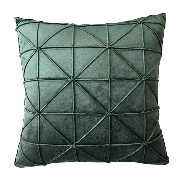 Set of 2 Suede Pillow Cover Decorative Cushion Cover Home Decor Throw Cushion Cover With Solid Color Modern  Nordic Pillow Cover