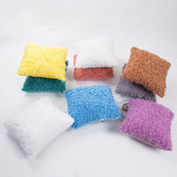 New Feather Down Pillow Case  Cushion Cover Soft Square Sofa Car Nap Throw Pillow Case Home Decor Household Supplies Decoration