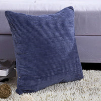 Decorative Pillows For Sofa Cushion Covers Pure Color Simple Car Home Decor White Throw Case on the Pillow 45*45 Travesseiro