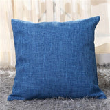 Double Side Solid Throw Pillow Cushion Cover Case Simple Color Printed Cushion Cover For Sofa Home Capa De Almofadas 40x40cm