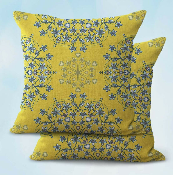 2PCS bohemian mandala cushion cover pillow cases cheap
