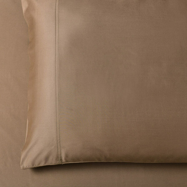 100% Viscose from Bamboo Solid Pattern Pair of Pillowcases Super Soft Silky Set