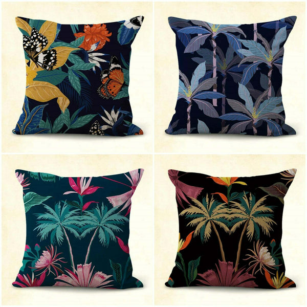 set of 4 rose flower cushion covers kids decorative pillowcases