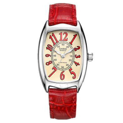 CASIO classic Women'S  Watches Famous Brand Ladies Quartz Women Watch Wristwatch Hot Selling Date Day elegant LTP-1208D-2B