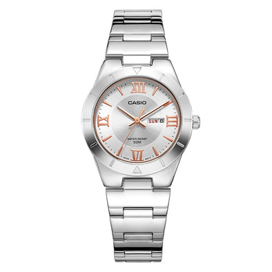 Casio watch 2018 NEW Fashion trend quartz watch Simple fashion waterproof strip ladies watch women watch LTP-1410L LTP-1410D