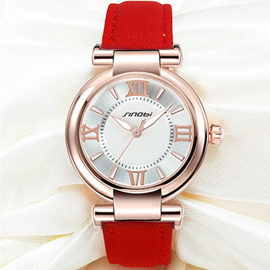 SINOBI Stylish Simplicity Fashion Quartz Wirst Watch For Women