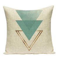 Geometric Square pillow cover home cushions Dropshipping throw pillowlinen Simple Simple nordic cushions decorative cover cushio