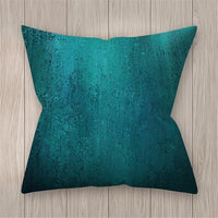 Geometric Pillow Case 45x45 Teal Blue Cushion Covers Decorative Throw Pillow Covers Pillowcases For Sofa Couch Living Room #BW