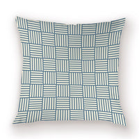 Geometric Decorative Pillow Cover Elegant Throw Pillow Cases Solid Color Cushions for Living Room 45 X 45 Striped Cushion Covers