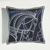 Euro Design Cojines Decorativos Para Sof Zara*women Geometric Horse Brand Nordic Cushion Cover Royal Luxury Throw Pillow Cover