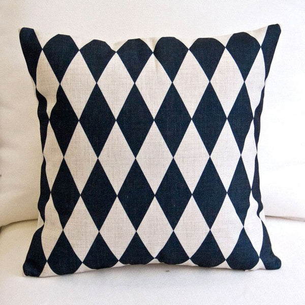 Black White Stripes Cushion Cover Geometric Nordic Pillow Cases Boho High Quality Throw Pillows Cases Lovely Cushions Home Decor