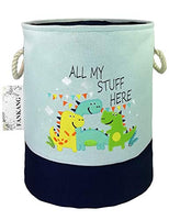 FANKANG Storage Baskets,Collapsible & Convenient Nursery Hamper/Laundry Bin/Toy Collection Organizer for Kid's Room (Fox)