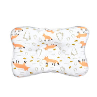 Newborn Infant Baby Pillow Flat Head Shaping Sleeping Pillow-Prevent Flat Head and Plagiocephaly (F)