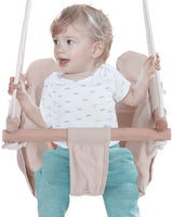 Canvas Swing for Baby,Yirise Hammock Chairs Swings Secure Canvas Hanging Swing Seat Indoor Outdoor Hammock Toy for Toddler and Baby Child with Cushion for Toddler Boys and Girls Canvas Hanging Swing