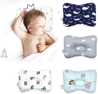 XuBa Cute Cartoon Prevents Partial Head Soft Pillow for Baby Infant Sleeping Spacecraft BY1031-1