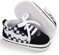 Tutoo Toddler Baby Boy Girl Canvas Infant Sneaker Anti Slip First Walkers Can.