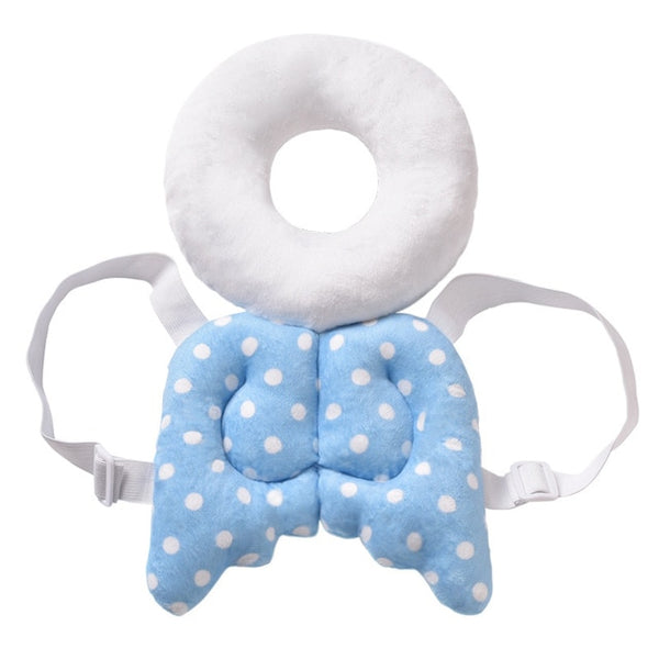 Baby Head Protection Pad Toddler Headrest Pillow Baby Neck Cute Wings Nursing Drop Resistance Cushion Baby Protect Cushion