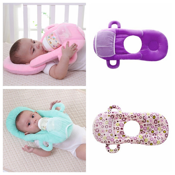 Breastfeeding Baby Pillows Multifunction Nursing Pillow Infant Feeding Pillows Baby Free Hand Milk Bottle Holder New