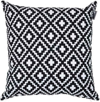 ACCENTHOME Accent Home Square Printed Cotton Cushion Cover,Throw Pillow Case, Sl