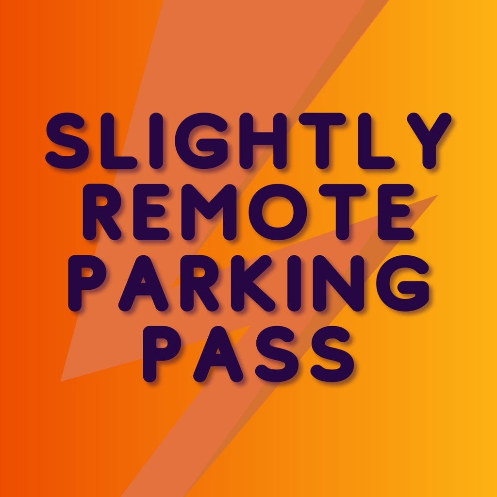 Same Same But Different Music Festival 2021 - Slightly Remote Parking Pass