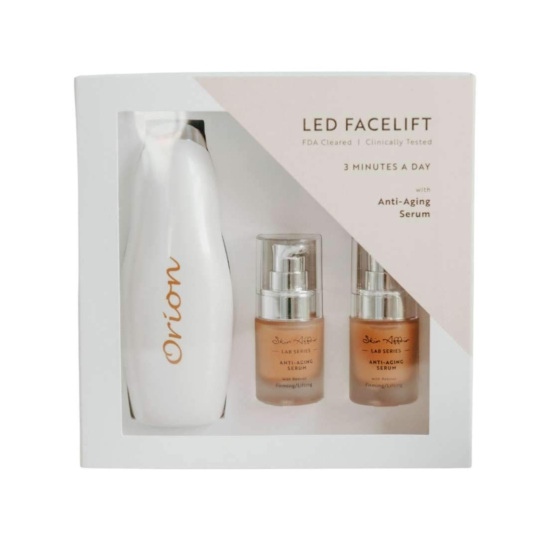 LED Facelift Set with Anti-Aging Serums - For Home Use