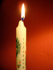 Advent Candle : Merry Christmas