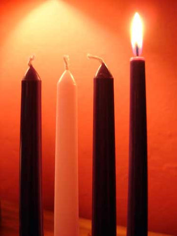 Traditional Advent Candles