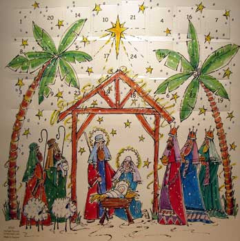Advent Calendar : Starlight Nativity