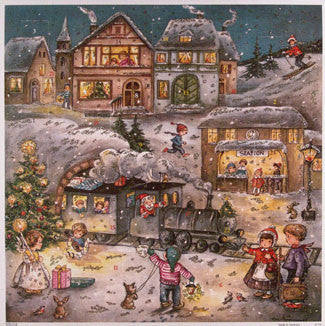 Advent Calendar : Christmas Station