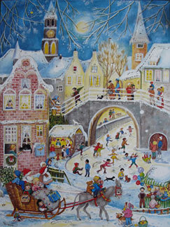 Advent Calendar : Christmas Village