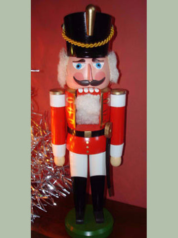 German Nutcracker: Vintage Hussar