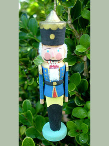 German Christmas Ornament: Nutcracker
