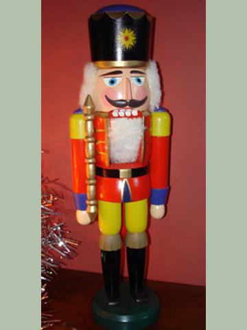 German Nutcracker: Vintage Prussian King