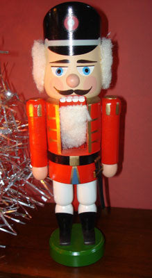 German Nutcracker: Vintage Small Officer