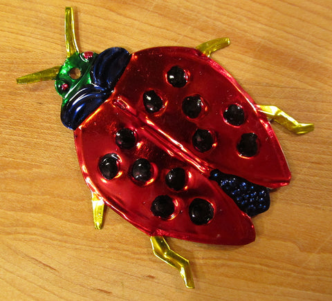 Mexican Tin Ornaments: Bugs