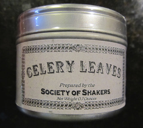 Shaker Culinary Herbs: Celery Leaves
