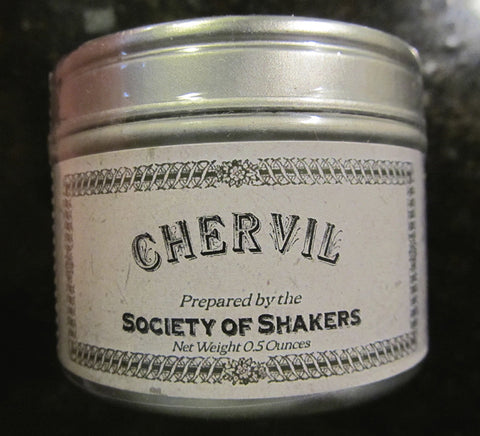 Shaker Culinary Herbs: Chervil