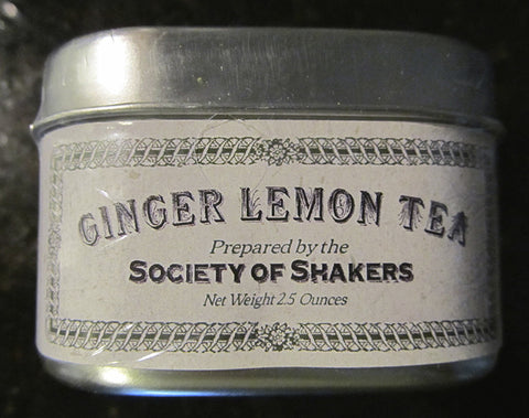 Shaker Herbal Teas: Ginger Lemon