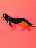 Mexican Tin Ornaments: Dogs