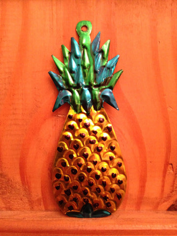 Mexican Tin Ornaments: Fruits